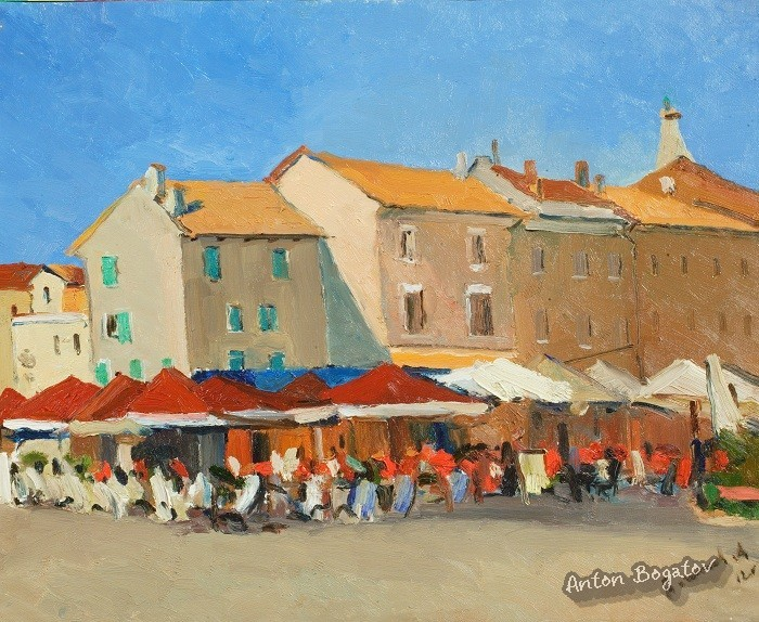 Cafe in Rovinj
